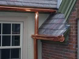 rain gutters cost. Brilliant Cost Copper Seamless Gutters Maine Throughout Rain Gutters Cost