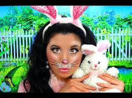 Small Picture Cute Bunny Rabbit Costume Makeup YouTube