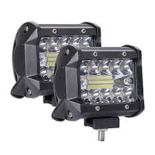 1pcs 200W <b>LED</b> 3 Rows 4inch <b>Working Light</b> Bar Driving Lamp for ...