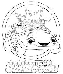 Small Picture Team Umizoomi Coloring Pages Printable Free Archives Best