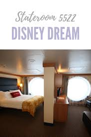 disney dream deluxe oceanview stateroom 5522