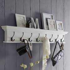 Wall Coat Rack With Hooks Breakwater Bay Belle Isle 100 Hook Wall Mounted Coat Rack Reviews 48
