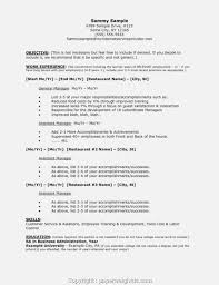 Restaurant Manager Resume Objective 14 Reasons Why People Love Invoice And Resume Template Ideas