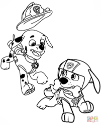 Free Paw Patrol Coloring Pages Printable Coloring Page For Kids