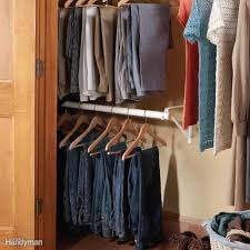 double decker closet rod