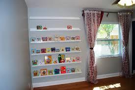 interior wall bookshelf for nursery sebastian designs useful casual 10 nursery wall bookshelf