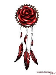 Dream Catcher Tattoo Stencils Dream catcher tattoo design by Inhophetaminex on DeviantArt 44