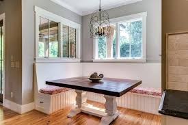 built in bench seat kitchen table with best seating ideas on window  intended for diy