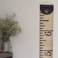 Etsy Height Chart Vintage Inspired Tape Measure Hanging Height Chart Ruler Growth Chart Imperial Height Chart Ruler Feet High Quality Banner