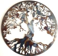tree of life metal art tree of life metal wall decor best art images on crafts drum and indoor heat colored tree of life metal tree of life metal wall art