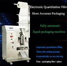Fully <b>Automatic</b> Liquid Packaging Machine Filling and <b>Sealing</b> ...
