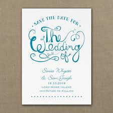 Save The Date For Wedding Wedding Swirls Save The Date Cards