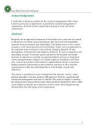 Akdn Organizational Chart Aku Magement Report