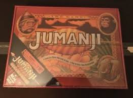 Jumanji Wooden Board Game NEW JUMANJI BOARD GAME CARDINAL EDITION REAL WOODEN WOOD BOX 5