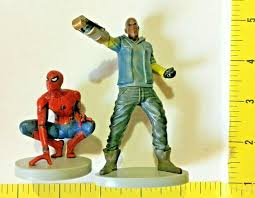 Disney Store Shocker Figurine Cake Topper Spider Man Ma