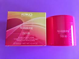 revitalizing elastic scrub de kiko make up milano