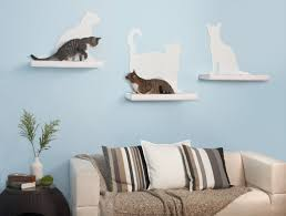 Corner Cat Shelves Some Very Cool Cat Furniture Cats Books Life Is Good 42