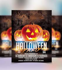 halloween template flyer 10 best free halloween party flyer template for 2017 technig