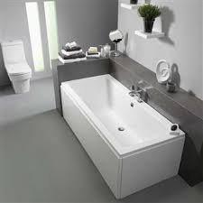 bath bathroom. Pura Bloque Double Ended Bath 1700mm X 750mm (No Taphole) With Leg Pack Bathroom T