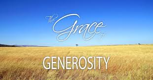 Image result for scripture image of generosity