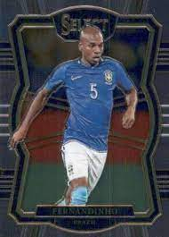 Amazon.com: 2017-18 Select Soccer #114 Fernandinho Brazil Mezzanine  Official Futbol Trading Card Picturing Players in their National Team  Uniform From Panini America: Collectibles & Fine Art