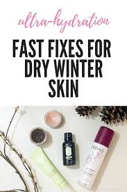 how to fix dry itchy winter skin