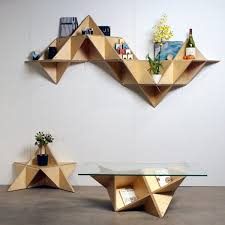 shape up your space with geometric decor