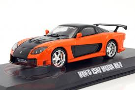 mazda rx7 fast and furious. hanu0027s mazda rx7 fast and the furious tokyo drift 2006 orange black 143 greenlight rx7