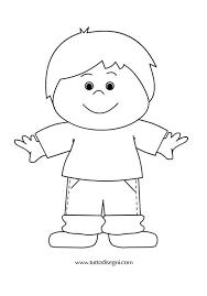 Più Adatto Per I Bambini Persone Da Colorare E Stampare Disegni