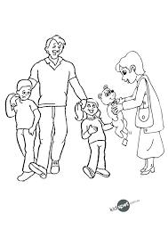 Coloring Pages Family Coloring Pages Family String Page Preschool My