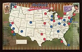 Ballpark Travel Quest Map