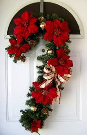 Candy Cane Christmas Wreath Deco Mesh By MrsChristmasWorkshop Candy Cane Wreath Christmas Craft