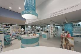 pharmacy design company stellatou pharmacy by kdi contract loutraki greece visit city
