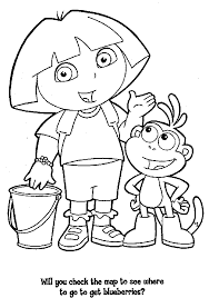 Small Picture Dora Coloring Pages Coloring Page