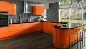 ideas orange kitchen ideas