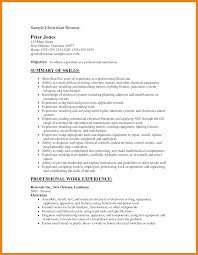 Electrician Resume Sample 100 apprenticeship electrician resume letter signature 42