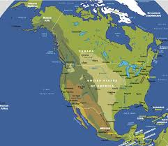 North America Satellite Map ile ilgili görsel sonucu North America Satellite Map