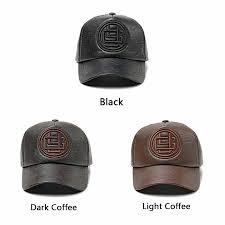 pu leather baseball cap men women style ball caps snapback trucker hats gorras 12 12 of 12 see more