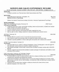 Waitress Resume Examples Enchanting Server Resume Sample Cocktail Waitress Resume Ambfaizelismail