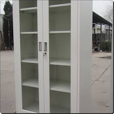 miraculous bookcase with glass door white glass door bookcase steel bookcase with glass door double