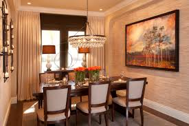 Family Dining Room Vibrant Transitional Dining Room Before And After