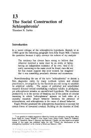 essays on schizophrenia the family and schizophrenia by mike  the social construction of schizophrenia springer inside