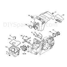 Stihl Ms 180 Chainsaw Ms180c B D Parts Diagram Air Filter