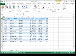 Sas Add In For Microsoft Office Excel Exchanging Data