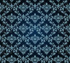 dark blue vintage wallpaper. Perfect Blue Seamless Antique Pattern  Victorian Style Dark Blue Wallpaper Vector Image  U2013 Artwork Of Backgrounds Click To Zoom Throughout Dark Blue Vintage Wallpaper