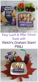 lunch and after snack made easy with welch s graham slam g pb j grahamslam welchspbj ad