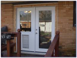 full size of can you put a dog door in a glass door double french doors