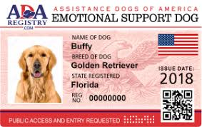 Emotional support animal real Airlines Support Dog Officialservicedogregistrycom Sample Letters For Emotional Support Dog Service Dog Registry