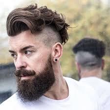 Photo Coupe Rasé Homme Coiffure Cheveux Long