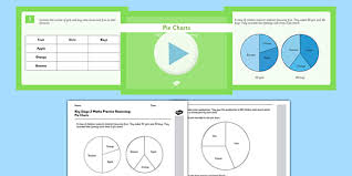 Pie Graph Chart Interpretation Worksheets Teacher Made